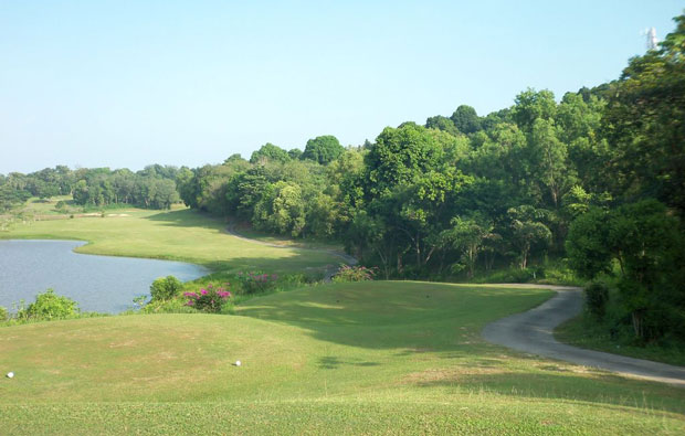 tee box Tamarin Santana Golf Club , Batam, Indonesia