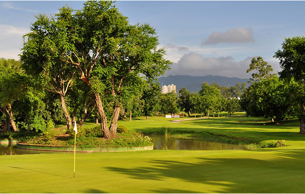 3rd green at Cebu Golf Country Club, Cebu, Philippines