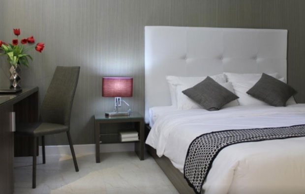 The Luxe Hotel Room