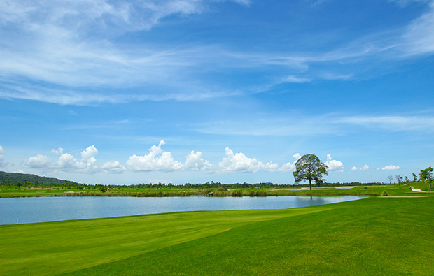 wide open fairways, siam country club plantation course, pattaya, thailand