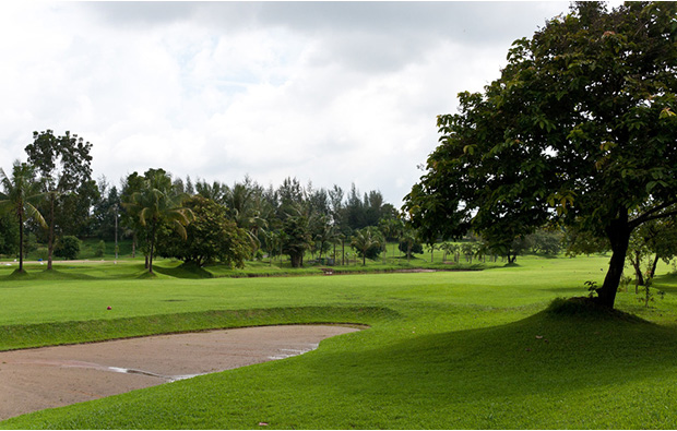 Yangon City Golf Course YCDC bunkers